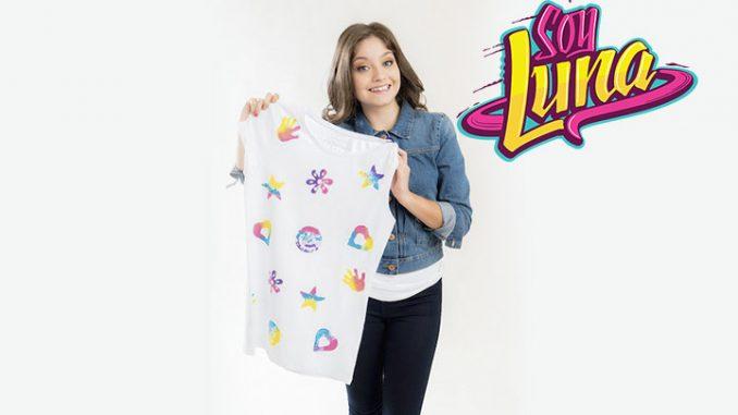 Soy Luna Crea La Tua T Shirt Personalizzata Tutorial Soy Luna 3