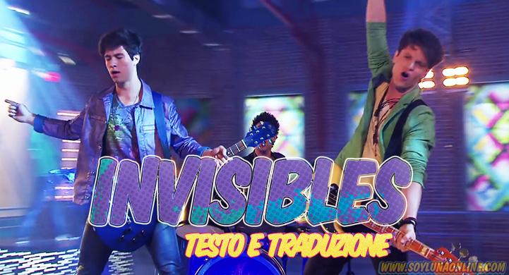 Invisibles, Testo e Traduzione