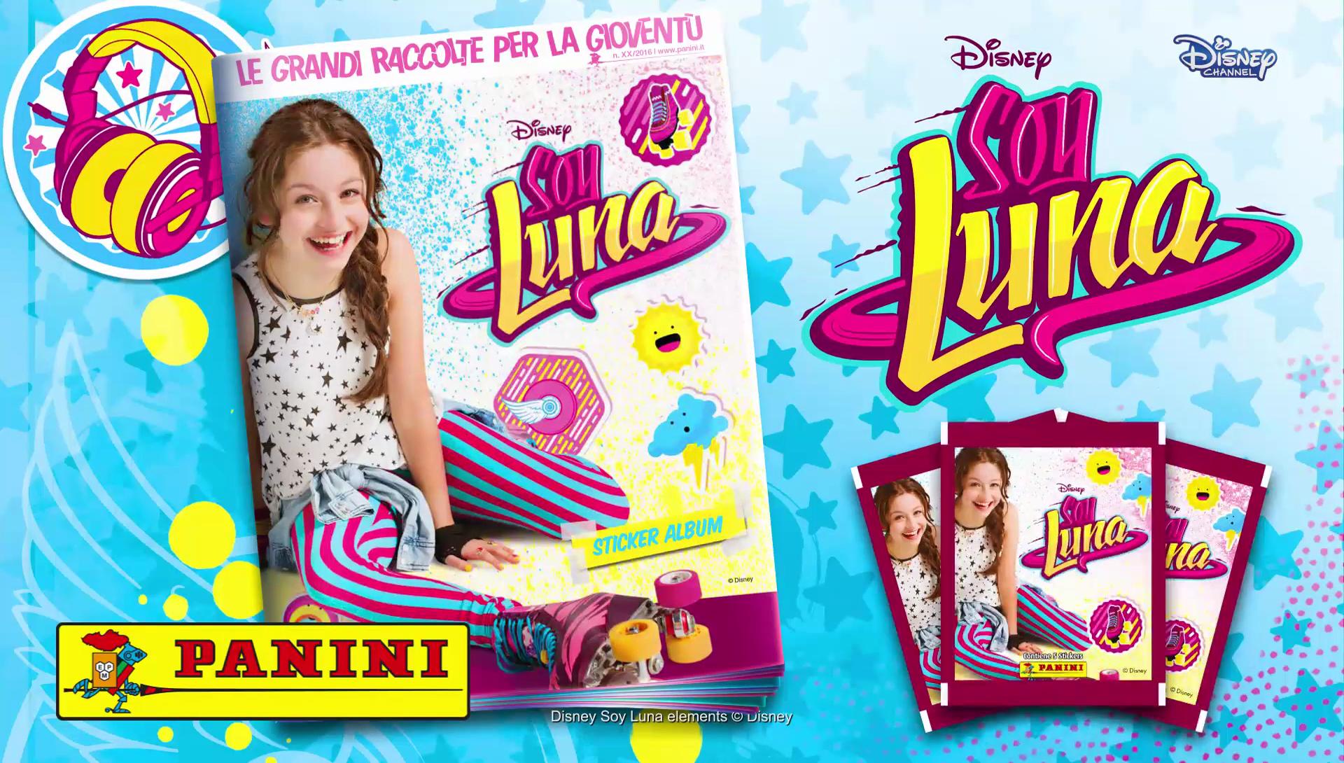 Arriva in Italia l'album di figurine di SOY LUNA!