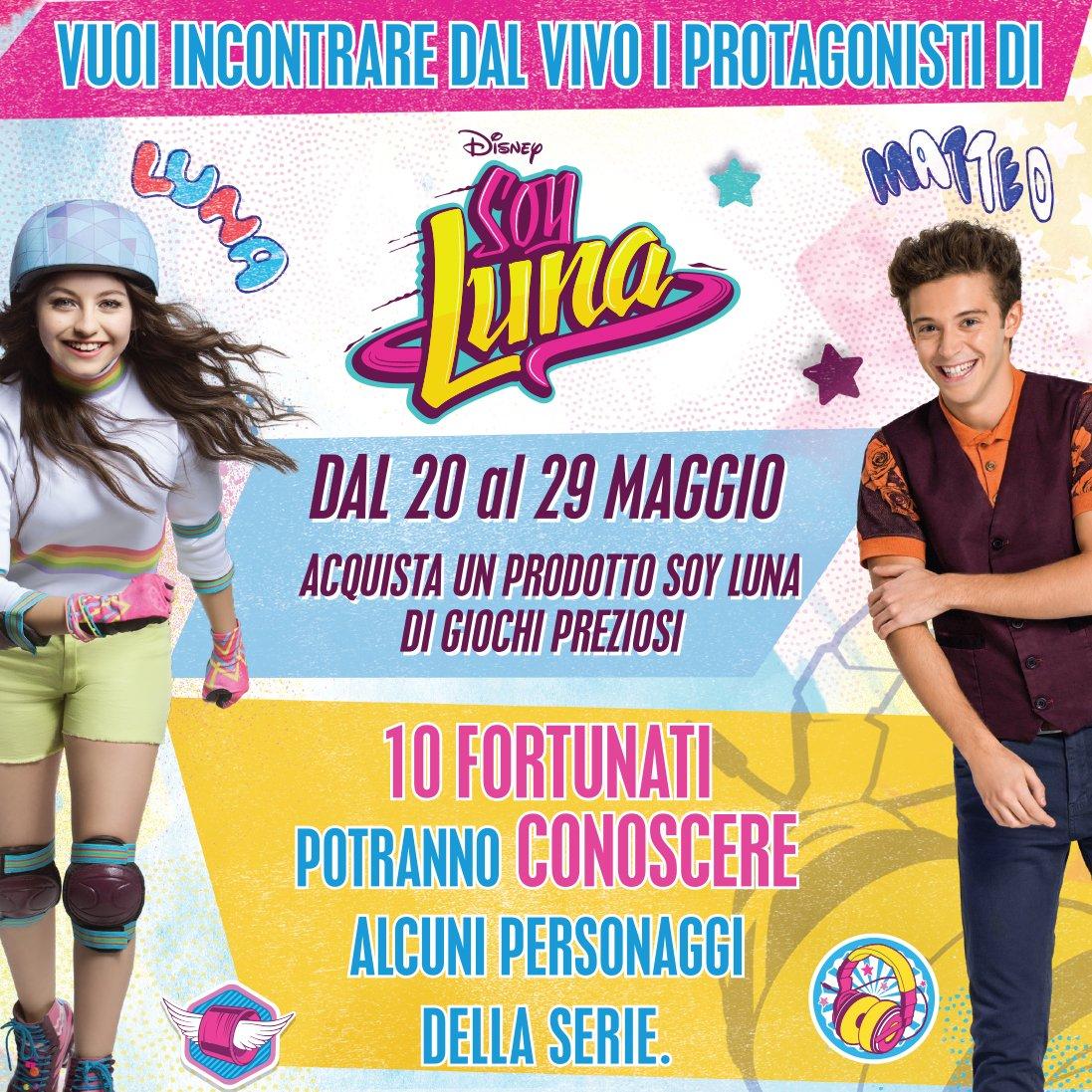 Partecipa al concorso e Incontra i protagonisti di Soy Luna!, Scopri come!